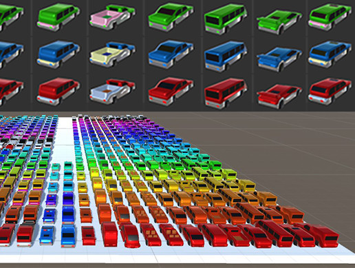 Cars In Colors - Endless Combinations