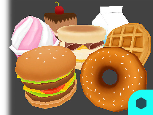 3D Bakery Object