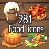 HD icons pack Vol.3:Adventurers' Tavern
