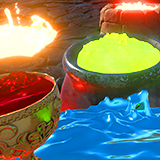 Animated Boiling Liquids