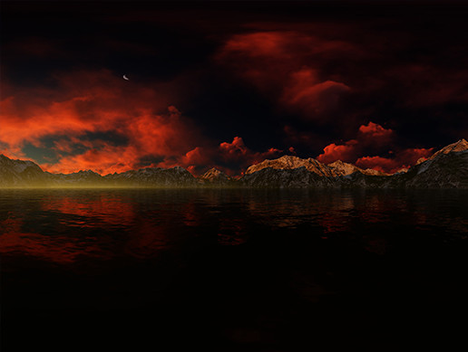 30 MOUNTAINS FANTASY SKYBOXES PACK