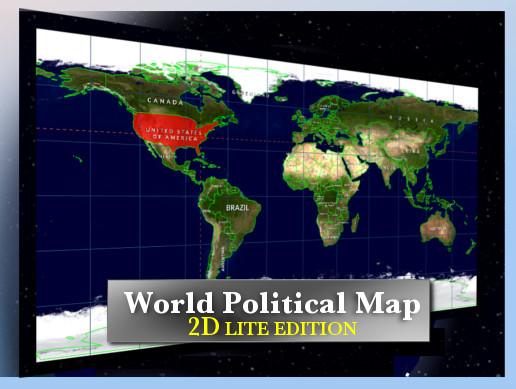 World Map Store.World Map 2d Lite Edition Asset Store