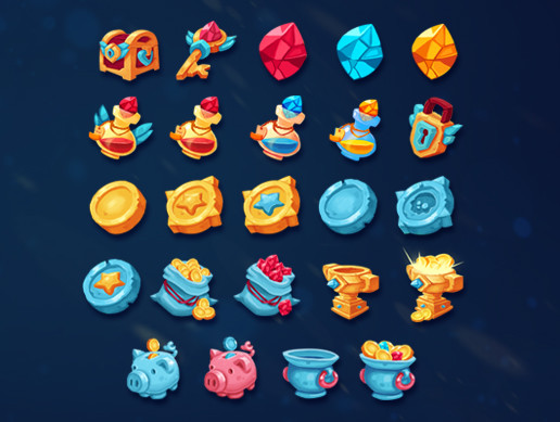 Treasure Icons Pack