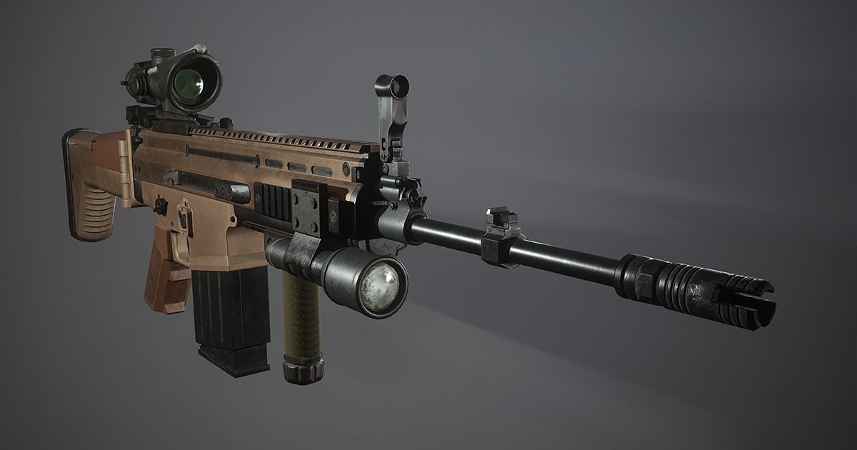 Rifle FN