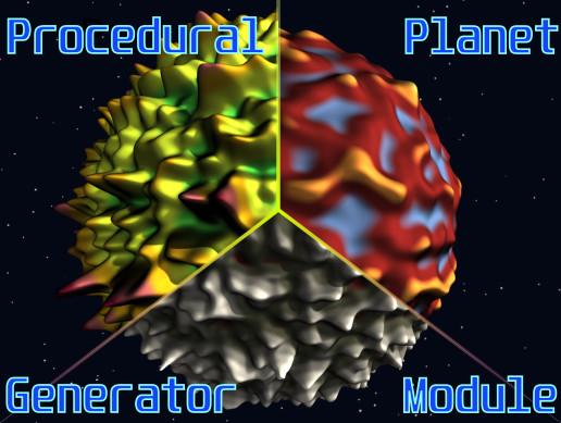Procedural Planet Generator Module