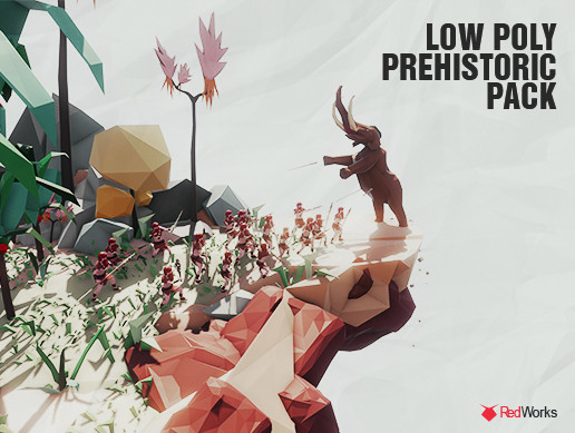 Low Poly Prehistoric Pack