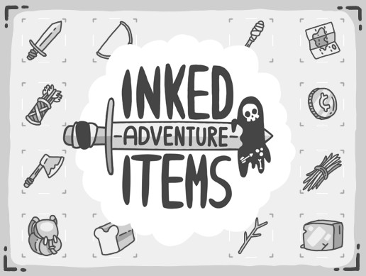 Inked Adventure Items