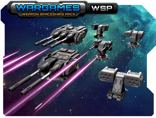 Weapons Spaceships Pack