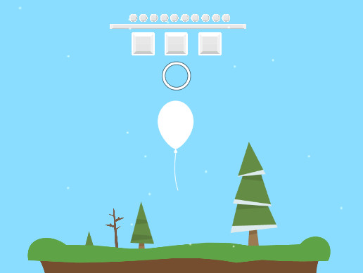 Rise Up Arcade 2D Endless Sky Infinite 'Runner' Balloon Defender - Defend The Balloon Mobile Game