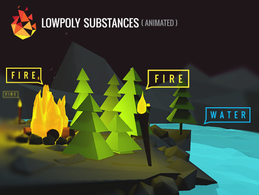 Lowpoly Substances