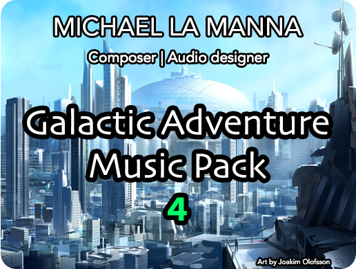 Galactic Adventure Music Pack 4