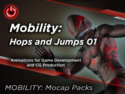 MOBILITY: Hops and Jumps Animation Pack