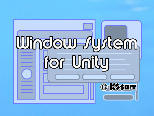 WindowSystem for Unity
