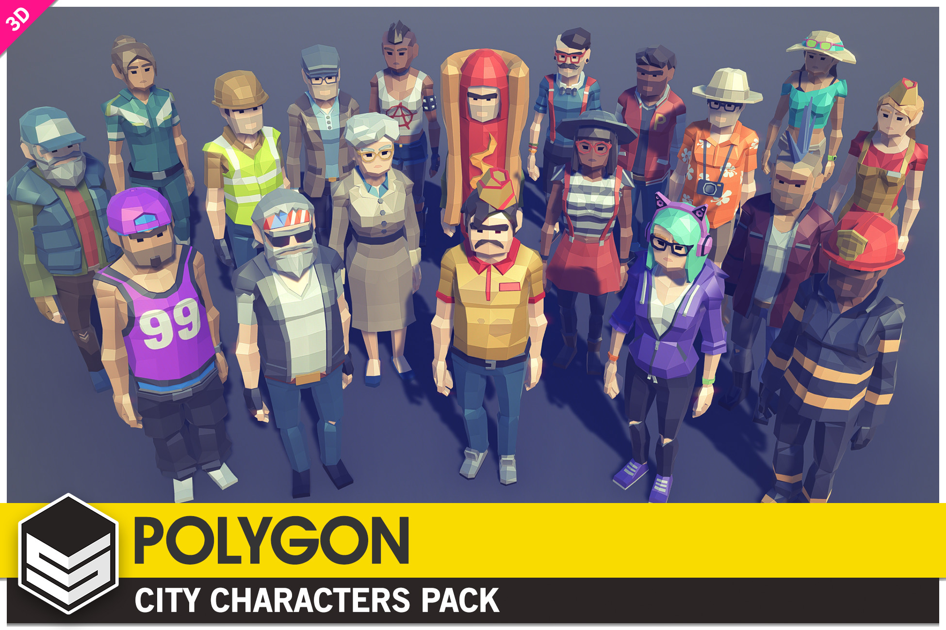 POLYGON - City Characters