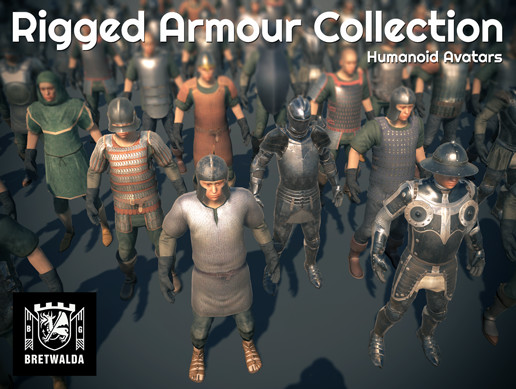 Rigged Armour Collection