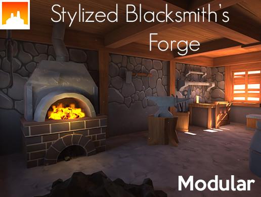 Stylized Blacksmith's House