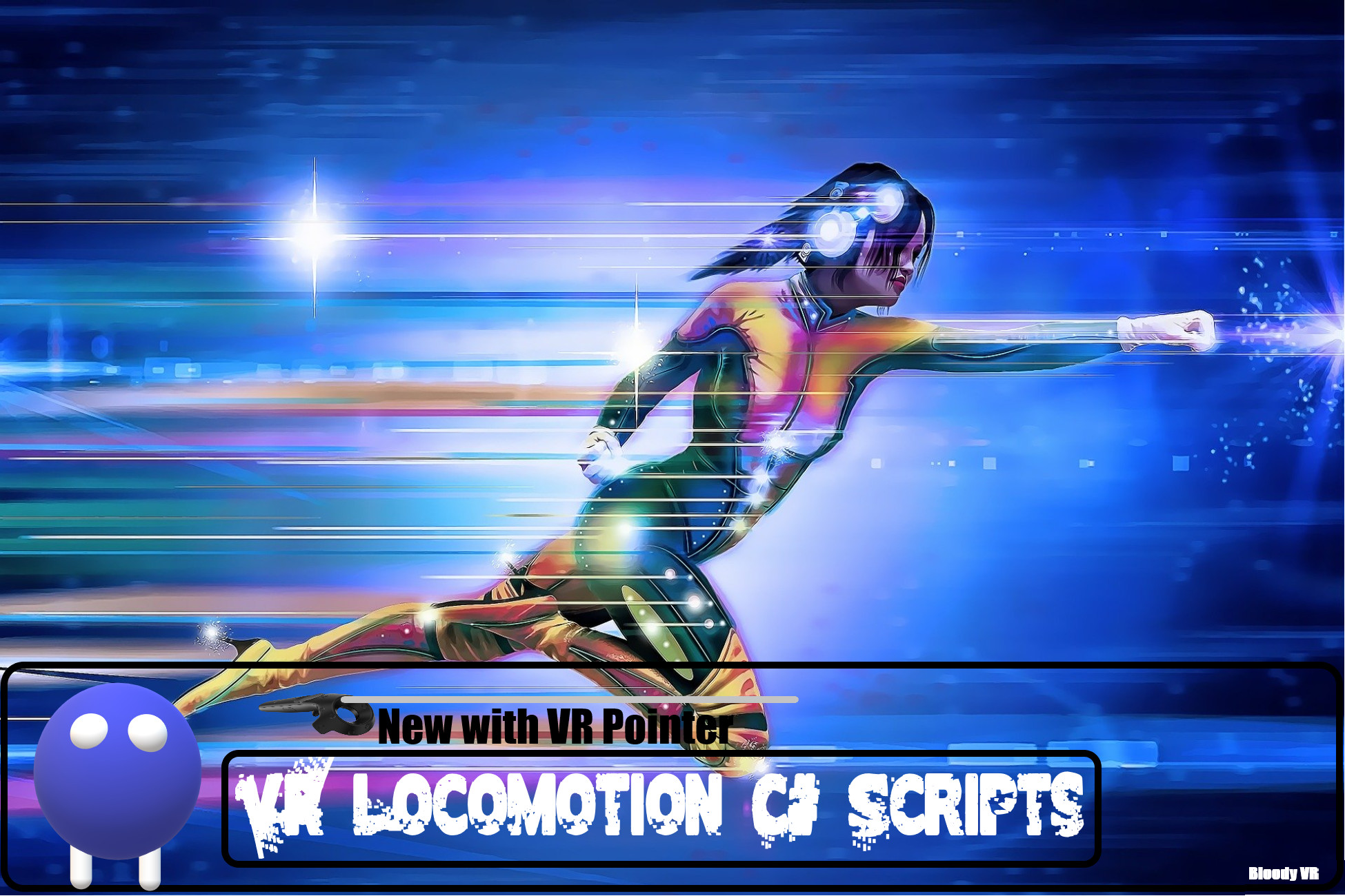 VR Locomotion Controller for SteamVR