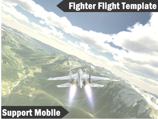 Fighter Flight Template