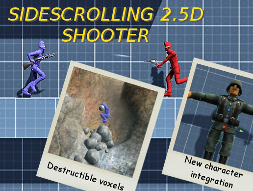 Sidescrolling 2.5D Shooter