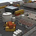 Industrial Area Scene - Pack