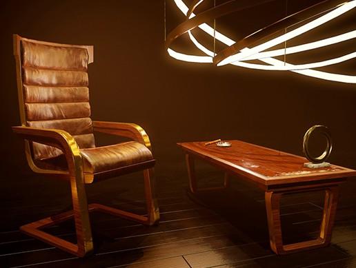 Art Deco Furniture Props