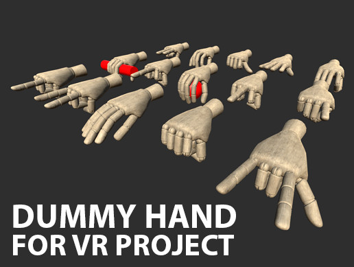 Dummy hands - VR project