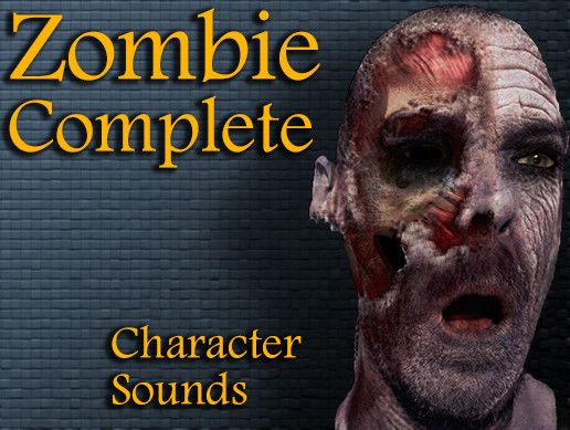 Zombie Complete Character Sounds