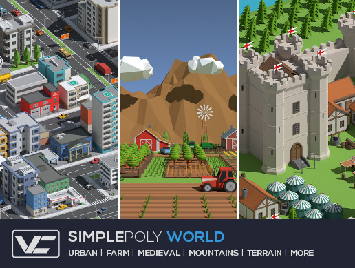 SimplePoly World - Low Poly Assets