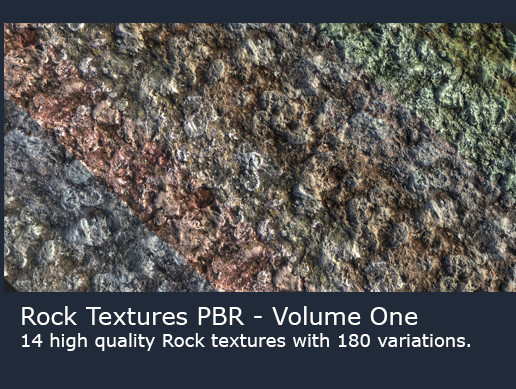 Rock Textures (PBR) - Volume One