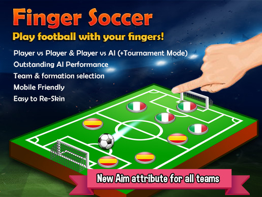 Finger Soccer Game Kit Asset Store