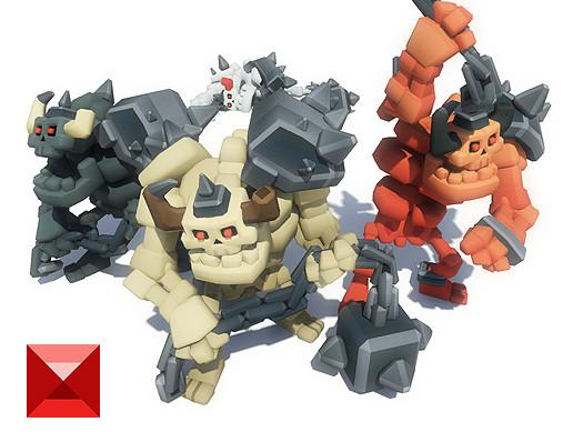 Skeleton Grunt - Smashy Craft Series