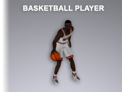 Basketball Player 8138 Tris