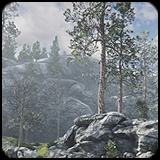 Rocky Hills Environment - Mega Pack