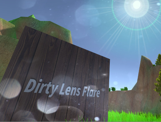 Dirty Lens Flare Effect For FPS