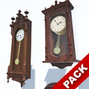 Antique Clocks Pack