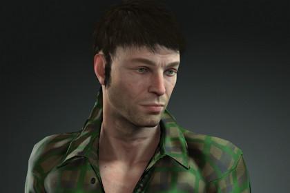 Real Human 3D Character 01
