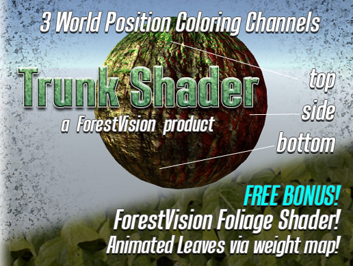 ForestVision Trunk Shader