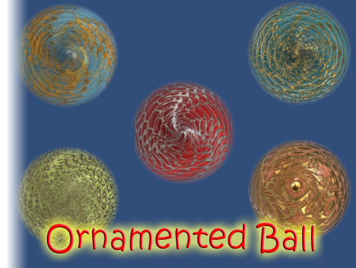 Ornamented Ball