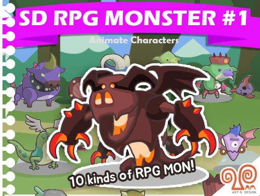 SD RPG monster Pack #1