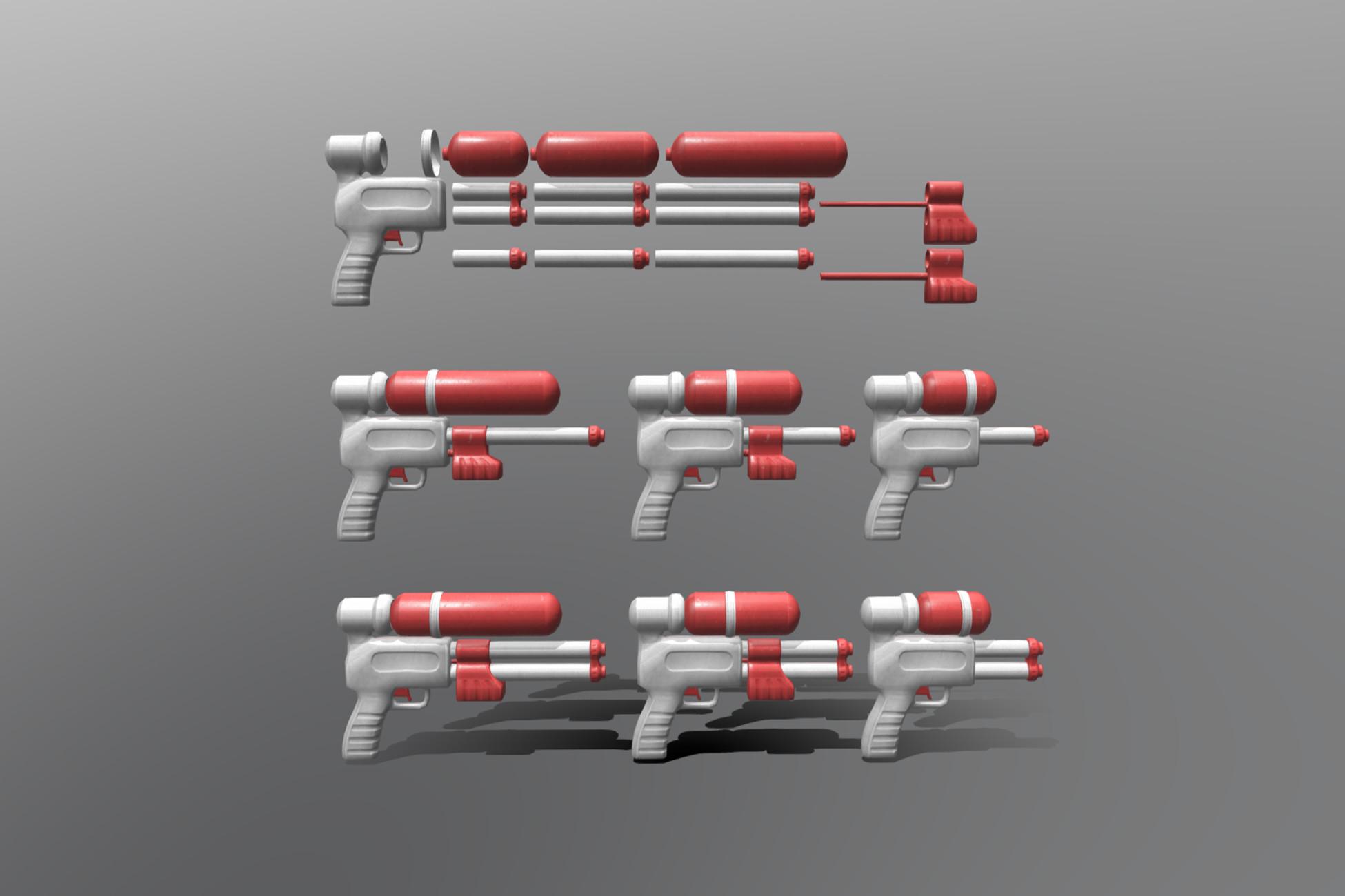 Modular Water Pistol