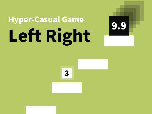 [Hyper-Casual Game] Left Right