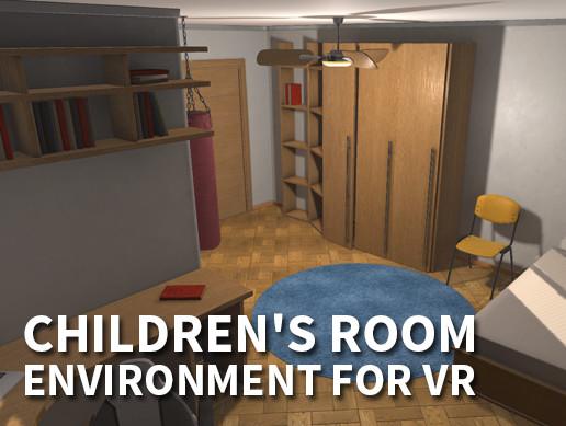 Children's room - environment for VR