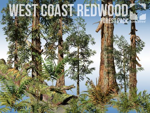 West Coast Redwood Forest Pack (v8)