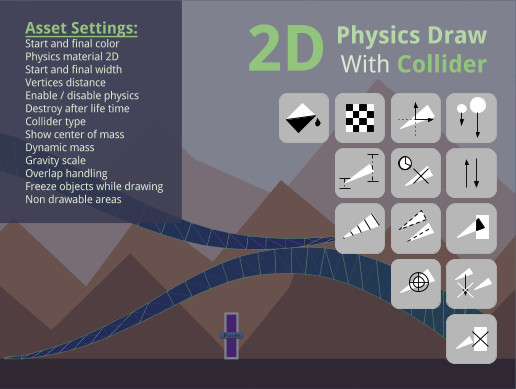 2D Physics Draw With Collider