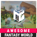 Awesome Low Poly Fantasy World