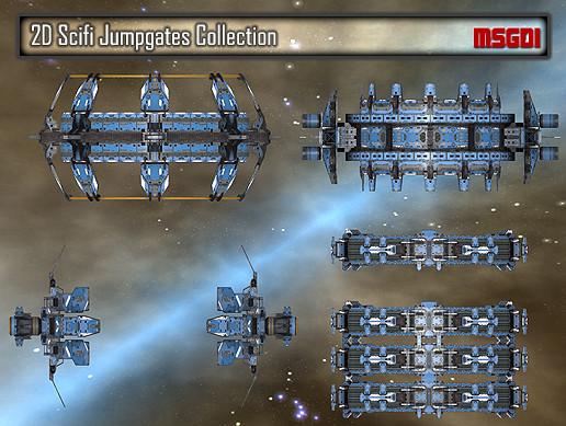 2D Jumpgates Collection