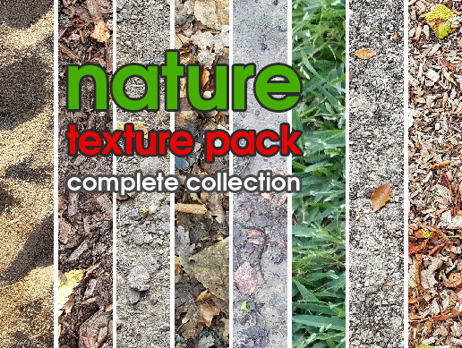 Nature Texture Pack CC - Complete Collection