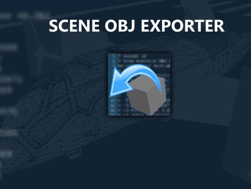 Scene OBJ Exporter - Asset Store