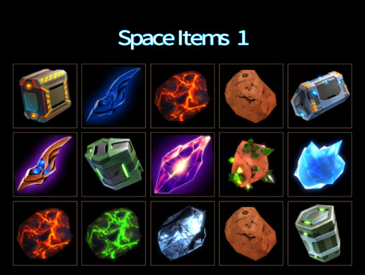 Space Items 1
