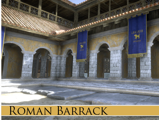 Roman Barrack Building